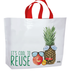 White Reusable Shopping Bag